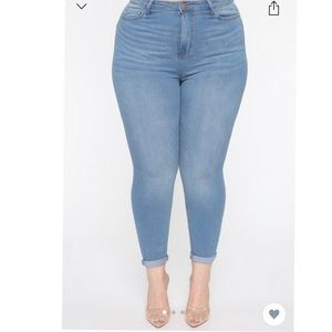 Lift Me Up Butt Lifter Jeans *FashionNova*